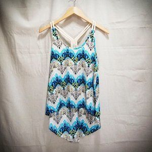 Ya Los Angeles chevron camisole
